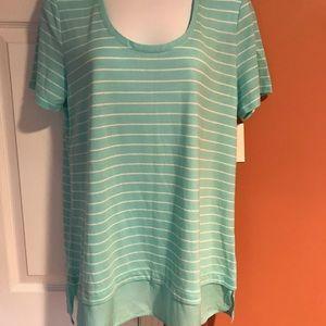 Women's Shirt, 70% Rayon, 30% polyester, size L